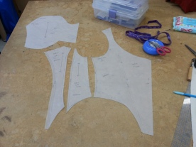 bodice pattern pieces