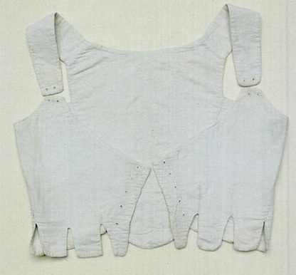 Linen jumps, c. 1790, Hereford Museum