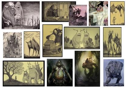 Ogre & forest creatures