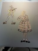 Minstrel & Princess Beauty
