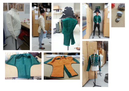 costume construction process